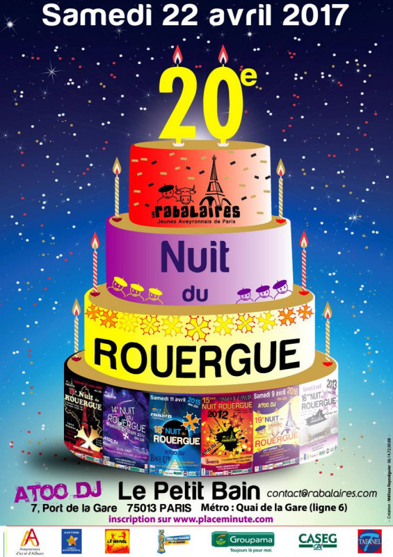 20ème Nuit du Rouergue