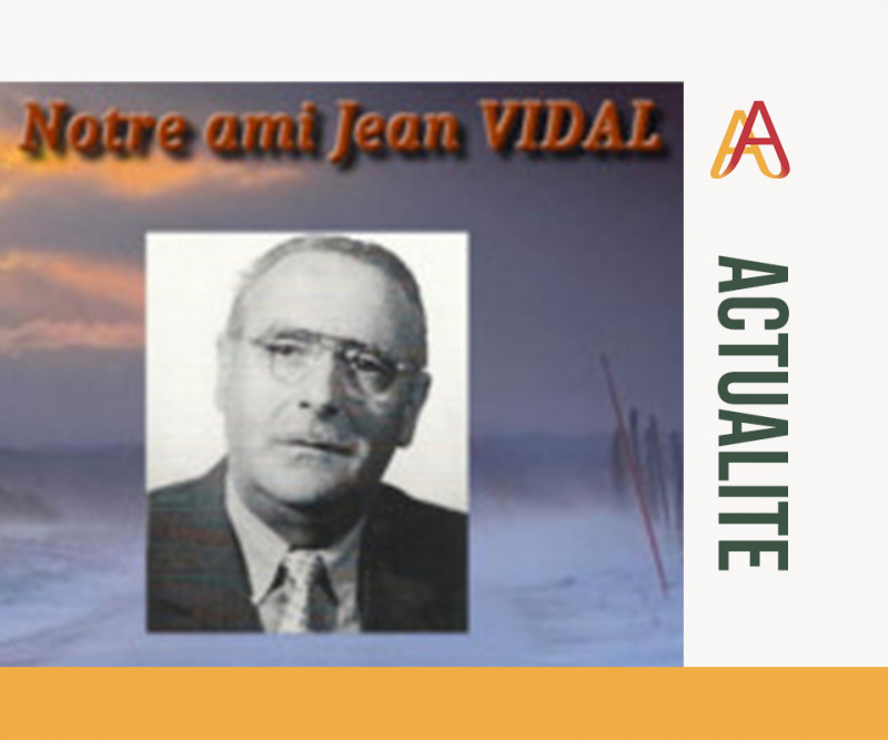 Hommage de l'amicale de l'Union Montagnarde à Jean Vidal
