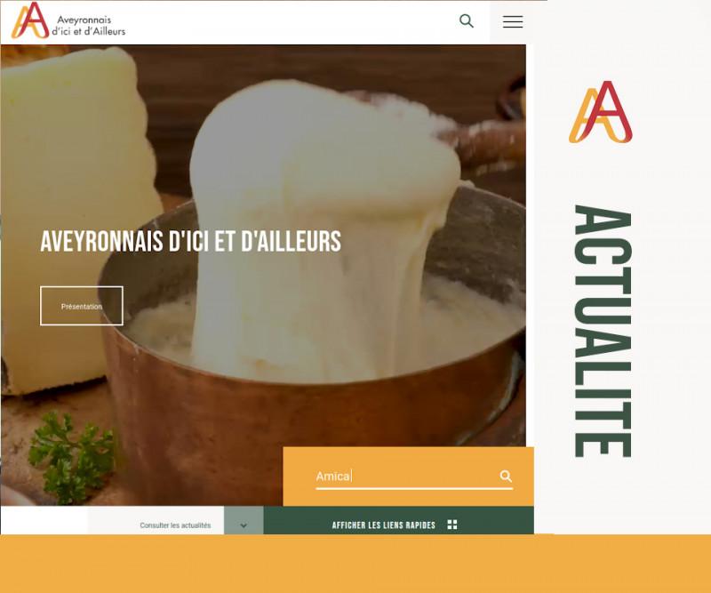 Zoom sur le nouveau site web de la Fédération des Aveyronnais d'ici et d'ailleurs