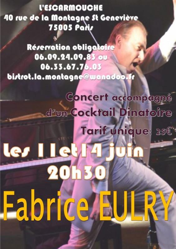 Concert Fabrice Eurly