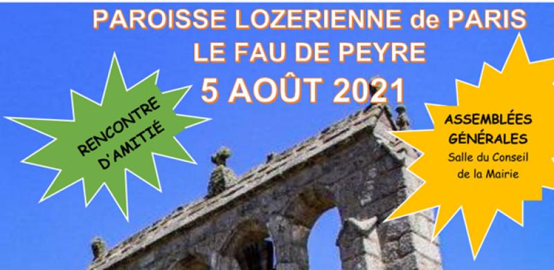 Rencontre d'amitié de la Paroisse Lozérienne de Paris