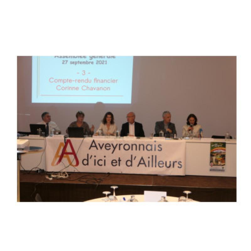 La Fédération des Aveyronnais d'Ici et d'Ailleurs retrouve le chemin des Salons de l'Aveyron pour son Assemblée générale